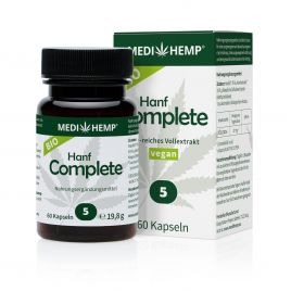Bio Hanf Complete Kapseln 5%