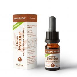 Organic Hemp Essence 5% with CBG
