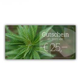Gutschein im Wert von EUR 25,-