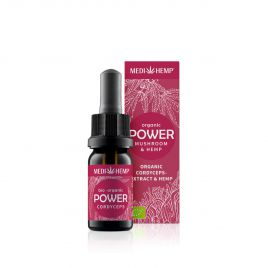 Organic POWER Cordyceps Militaris Extract & Hemp
