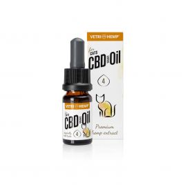 Organic CBD-Oil 4% for cats, 10ml