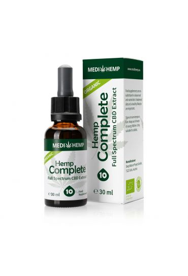 Organic Hemp Complete 10%