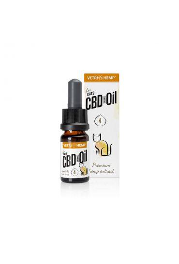 Organic CBD-Oil 4% for cats, 10ml